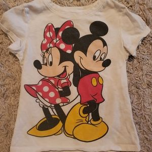 Toddler Mickey and Minnie tee